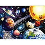 1000 Piece Jigsaw Puzzles for Adults, GLIME Space Puzzles Solar System...
