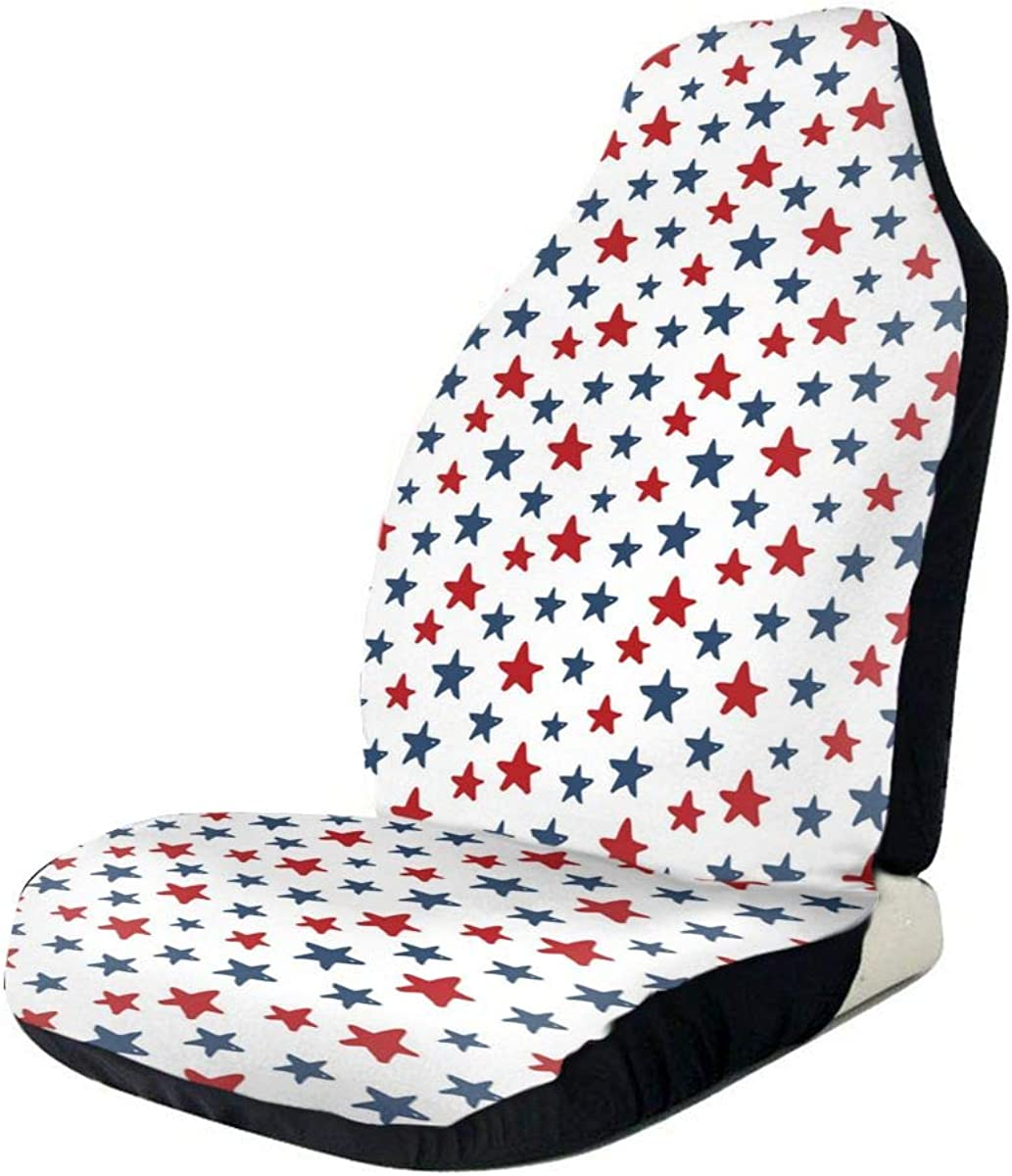 Car Seat Covers Red Popularity Blue Star Blanket With Nippon regular agency U Saddle Elastic