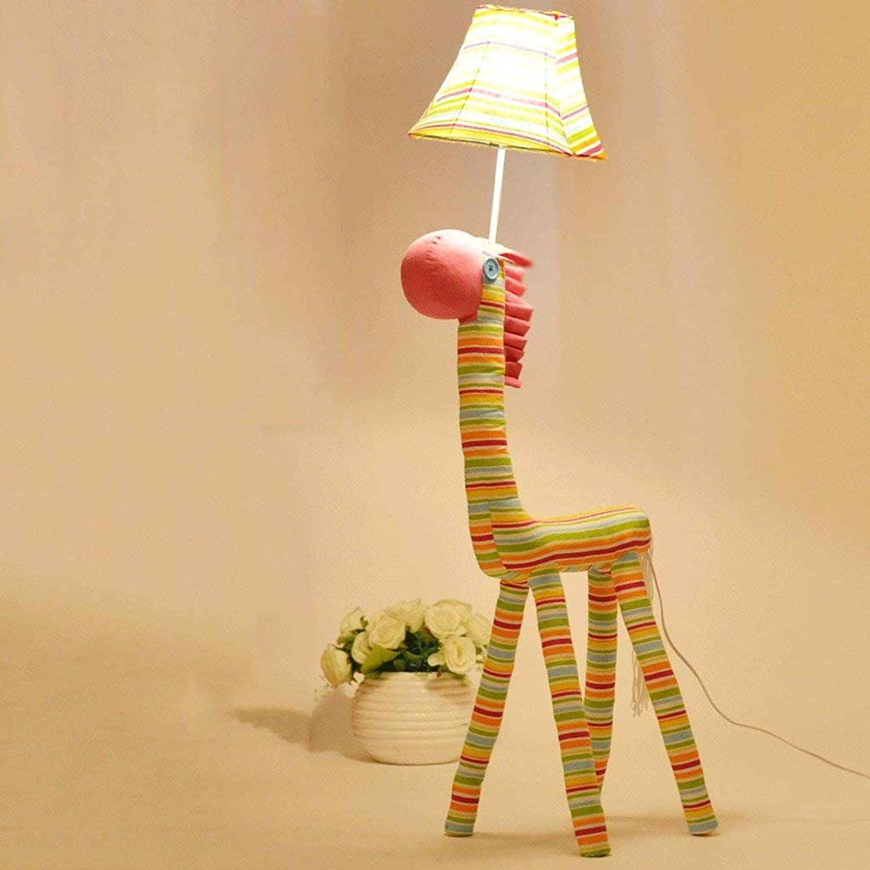 JU Stehleuchte Kinder Cartoon Nette Kreative Kreative Kreative Stehlampe Prinzessin Zimmer Schlafzimmer Wohnzimmer Pony Grünikale Lampe B07J6GT4B8   Öffnen Sie das Interesse und die Innovation Ihres Kindes, aber auch die Unschuld von Kindern, kindlich, glücklich  d28f11