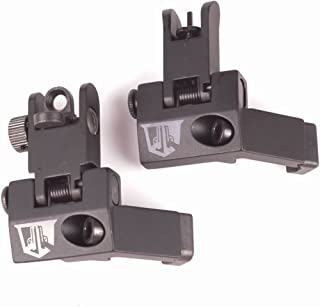 OZARK ARMAMENT 45 Degree Offset Flip Up Backup Sights - Picatinny Mount BUIS