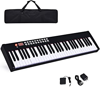 Costzon BX-II 61-Key Portable Digital Piano, Electric Keyboa