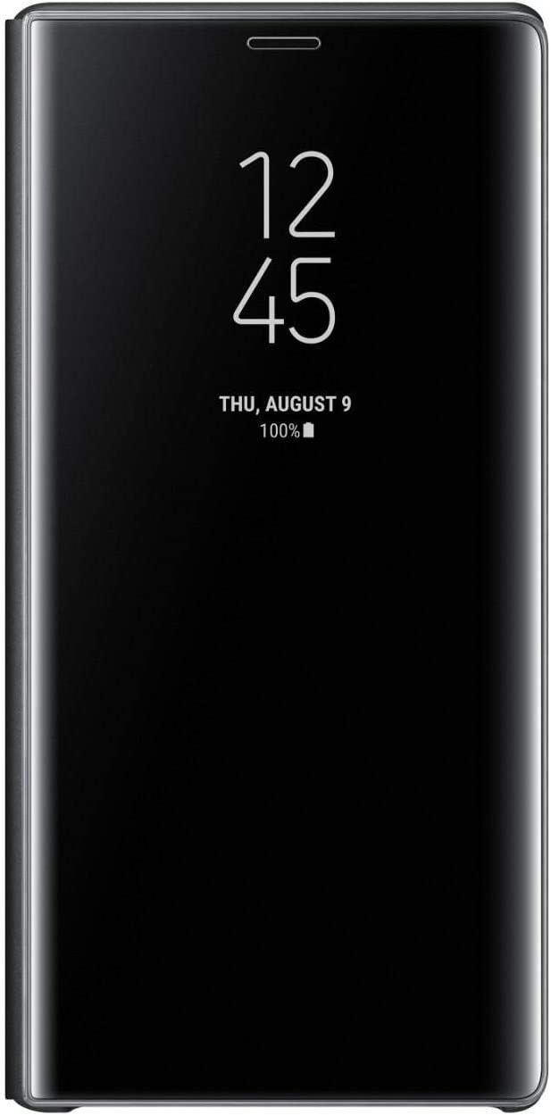 SAMSUNG Original Clear View Standing Cover/Case for Galaxy Note 9, Black