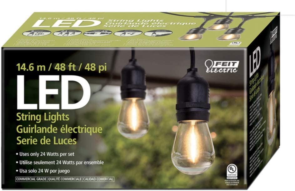 Feit Electric 710090 Topics on TV 48ft Ultra-Cheap Deals String LED Light