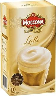 moccona latte sachets
