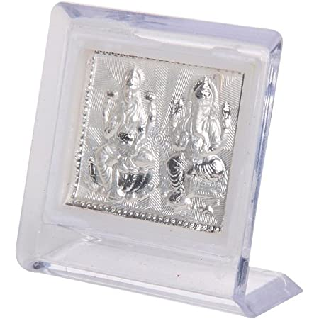 JEWEL FUEL Silver Frame Stand (6 x 6cm, Silver)