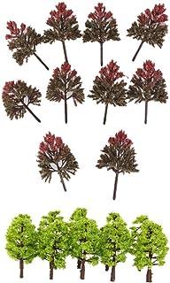 30st modell tåg järnväg dekoration Mini Tree HO OO för Park Garden Scenery