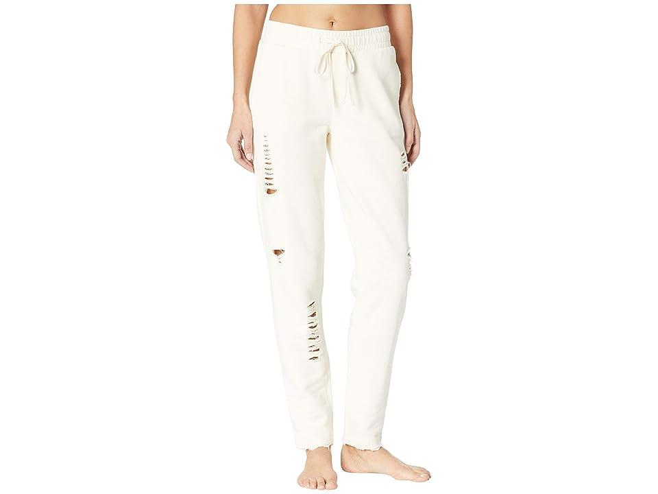 ALO Ripped Sweatpants (Pristine) Women