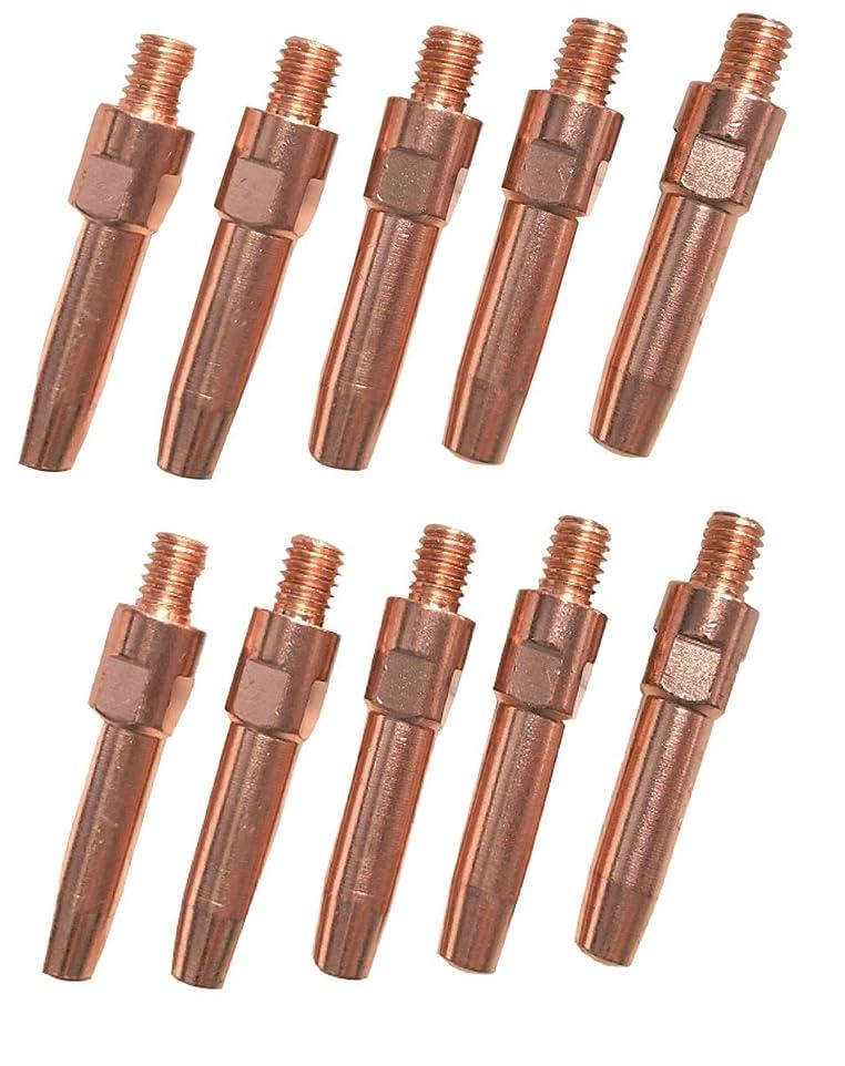 狂うカジュアル額CO2 溶接 チップ 0.9mm×40mm 松下 TET00962 適合 ダイヘン K980C30 適合 10本