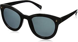 Foster Grant womens Bria Sunglasses, Black/Smoke Pol, 51.4 mm US