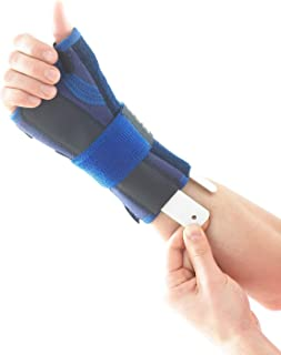 Neo G Wrist and Thumb Brace, Stabilized - Spica Support for Carpal Tunnel Syndrome, Arthritis, Tendonitis, Joint Pain - Adjustable Compression - Class 1 Medical Device - One Size - Right - Blue