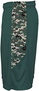 Digi-Camo Athletic Shorts with Pockets Wicking Performance Moisture Management Youth & Adult in 11 Colors