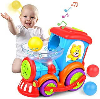 Kidpal Baby Toy, Ball Popping Educational Toddler Train...