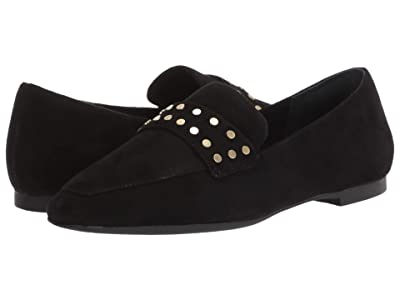 Rockport Total Motion Laylani Stud Keeper (Black Suede Studs) Women