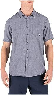 5.11 Tactical Men's Evolution Short Sleeve Shirt, Metal Ring Snaps, Style 71387