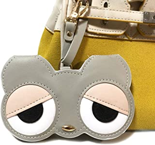 Longjet Eyeglass Case Soft Leather Sunglasses Organize Holder Cute Handbag Charms Accessories