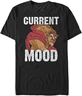 Disney Men's Beauty and The Beast Current Mood Graphic T-Shirt
