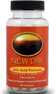 Uric Acid Support, 60 Caps | Naturally Supports the Reduction of Uric Acid that Triggers Gout | Supports Kidney Health wit...