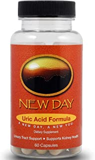 Uric Acid Support, 60 Caps | Naturally Supports the Reduction of Uric Acid that Triggers Gout | Supports Kidney Health with Tart Cherry, Milk Thistle, Celery Seed Extract and more | Made in the USA