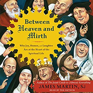 Between Heaven and Mirth audiobook cover art
