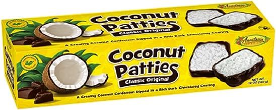 Anastasia Confections Coconut Patties, Original, 12-ounce