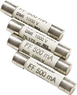 Amprobe FP500 0.5A/1000V Ceramic Replacement Fuses for 37XR and 38XR, Pack of 2