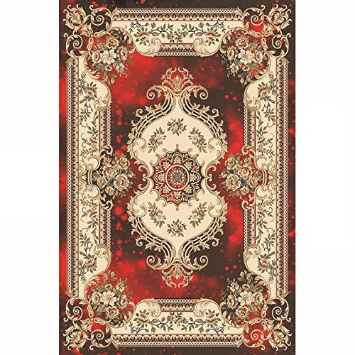 PANGLDT tapijten woonkamer grote tapijt -Europese huishoudelijke verdikte salontafel mat tapijt anti slip ondervloer slaapkamer kinderen gang tapijt