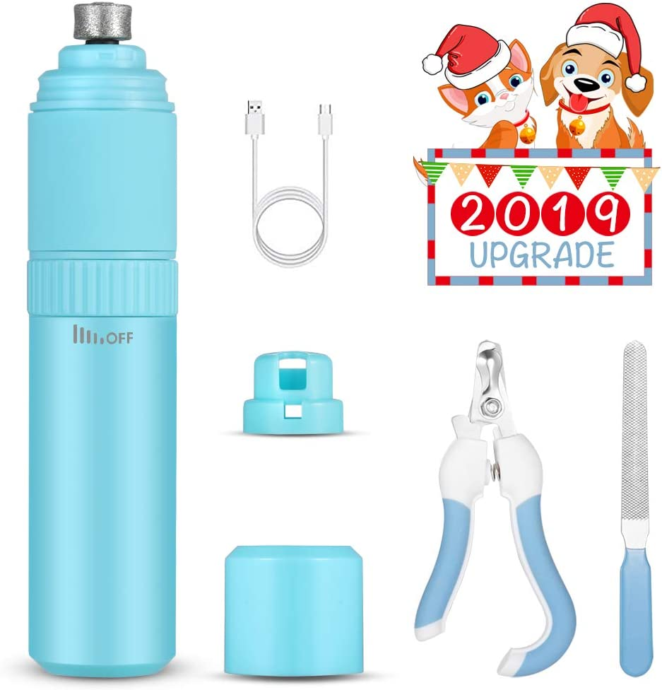 Over item handling ☆ YoungJay Rechargeable Dog New color Nail Grinder Speed Stepless Upgraded