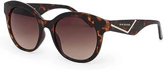 Guess Round Women's Sunglasses, Dark Havana with Brown Gradient Lenses GG1156 52F