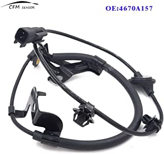 Mathenia Car Parts, Rear Left 4670A157 ABS Wheel Speed Sensor for Mitsubishi Lancer Outlander Pajero