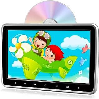PORMIDO ヘッドレストモニター dvd スロットイン式 10.1インチ dvdプレーヤー HDMI入力 スマホ同期可能 リアモニター車載dvdプレーヤー内蔵 CPRM対応 高画質1024*600 リージョンフリー レジューム機能 スピーカー内蔵 AUX USB/SD/AV-IN/AV-OUT 軽薄設計 簡単取付 シガーアダプター付き 12ヶ月保障 日本語説明書付属