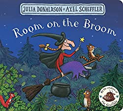 room on the broom childrens halloween book
