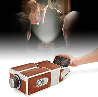Suines Small Home Theater DIY Mobile Phone Projector Overhead Phone Screen Magnifier