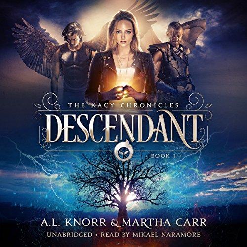 Descendant: The Revelations of Oriceran audiobook cover art