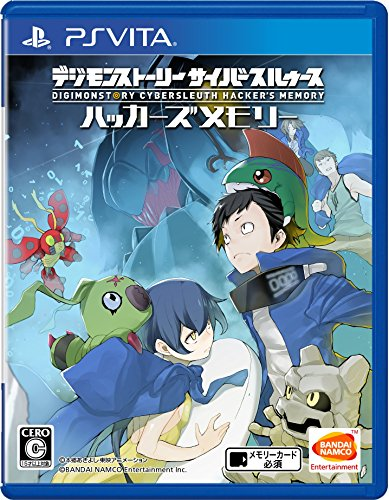 Digimon Story Cyber Sleuth Hacker's Memory PS Vita SONY Playstation JAPANESE VERSION [video game]