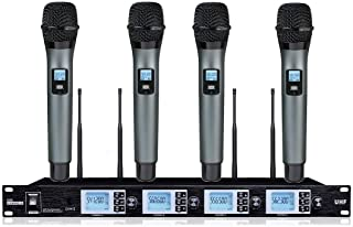 Amazon com: 4 wireless microphone - BOLY / Wireless Headset