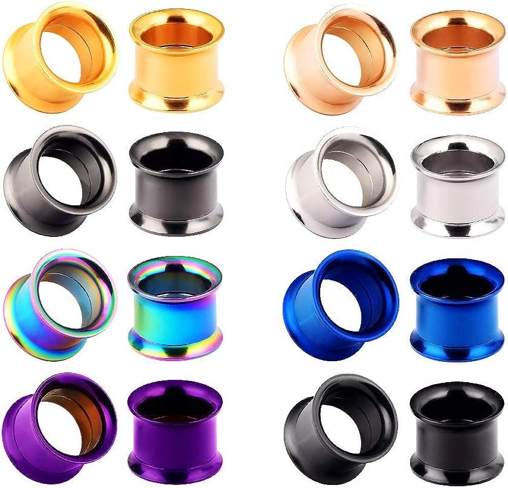 Yr Fashion 16pcs-32pcs Set Stainless Steel Double Flared Colorfu