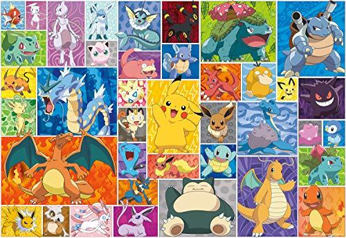 Pokemon - Pokemon - Pokemon Squares - 2000 Piece Jigsaw Puzzle