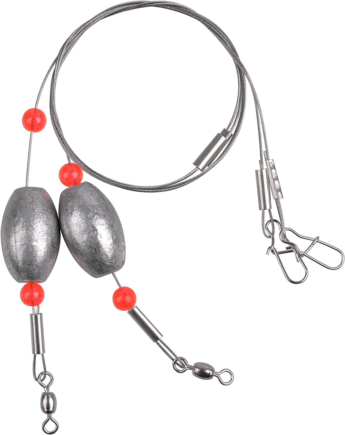 Easy Catch Louisville-Jefferson County Mall Fishing Egg Sinker Weight 4pcs Rigs S Ready Mail order with