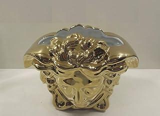 Versace Jarrón 15 cm Medusa Grande Gold 15 cm H 19 cm Largo