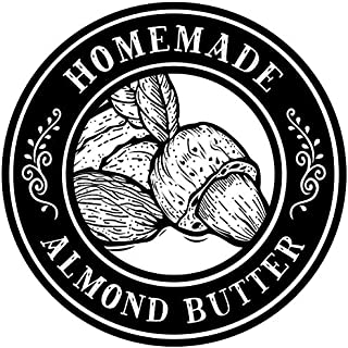 Sponsored Ad - Homemade Canning Dissolvable Labels For Mason Jars and More - Almond Butter (2