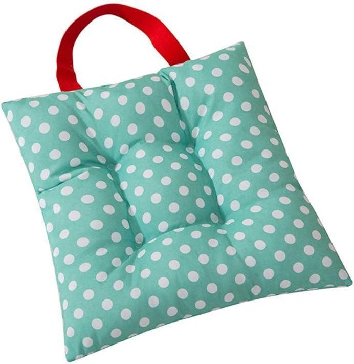 CZ Fashion Dots Candy Colors Kids Seat Pad Dining Room Garden kindergarten Children Chair Cushions 27x27cm