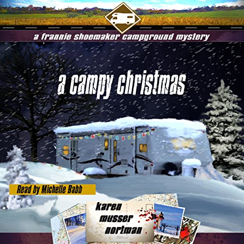 A Campy Christmas audiobook cover art