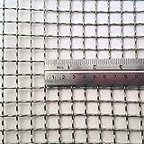 Tamaño de Agujero de 11mm - Acero Inoxidable 304L - Tamaño de Corte: Muestra - 2 Recuento de Malla - Malla de Alambre Tejido