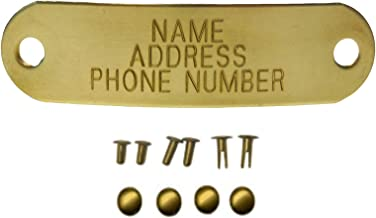 brass pet tags engraved