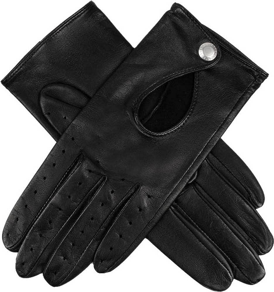 Dents Womens Thruxton Hairsheep Leather Driving Gloves - Black