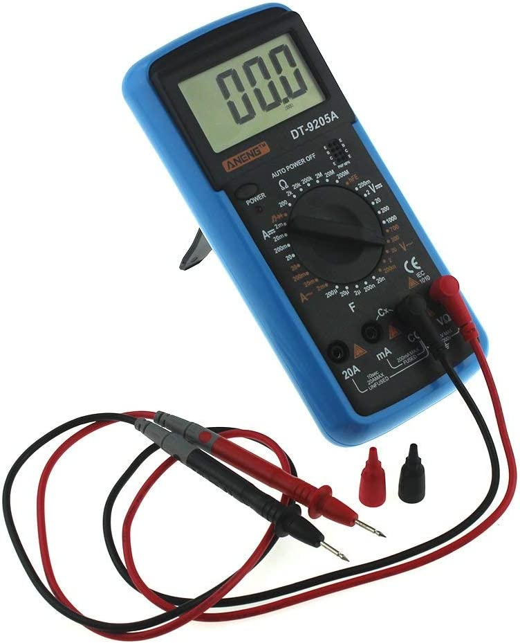 YELLAYBY Intelligent DT9205A hFE Digital AC supreme Am Multimeter LCD Seattle Mall DC