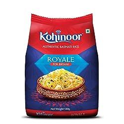 Kohinoor Royale Authentic Basmati Rice, 500 g Pack