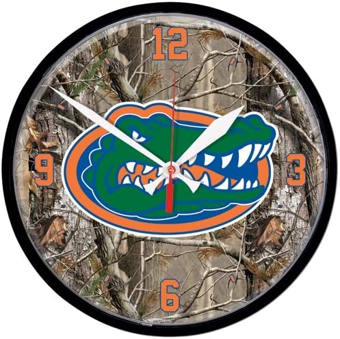 Popular brand in the world Chicago Mall NCAA 2653612 University of Florida Round Wall Clock 12.75