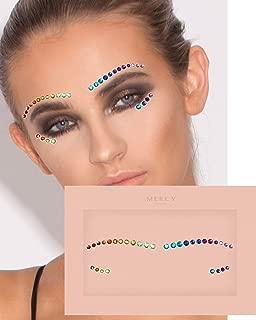 Love is Love Face Jewels ✮ Mercy London Face Gems Jewels Rainbow Pride Heart