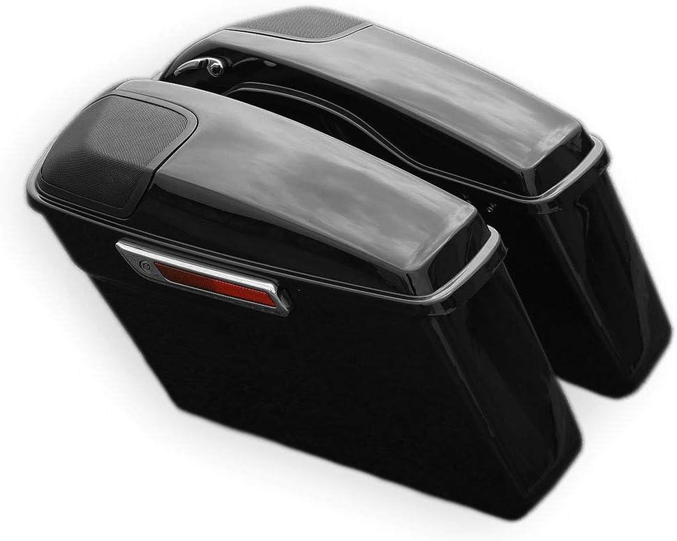 Green-L Vivid Black Saddlebag Popular standard with 5 Fit 7